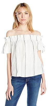 Cooper & Ella Women's Fernanda Off The Shoulder Top