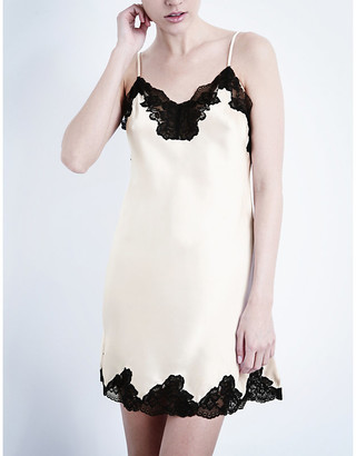 Morgan Nk Imode silk-satin and lace chemise