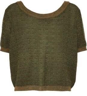 Simon Miller Imlay Marled Wool Cardigan