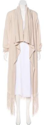 The Perfext Fringe-Trimmed Cashmere Cardigan