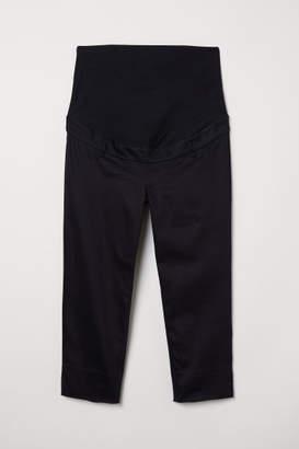 H&M MAMA Capri Pants - Black
