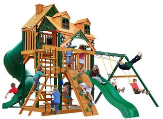 Gorilla Playsets Great Skye I Deluxe Swing Set