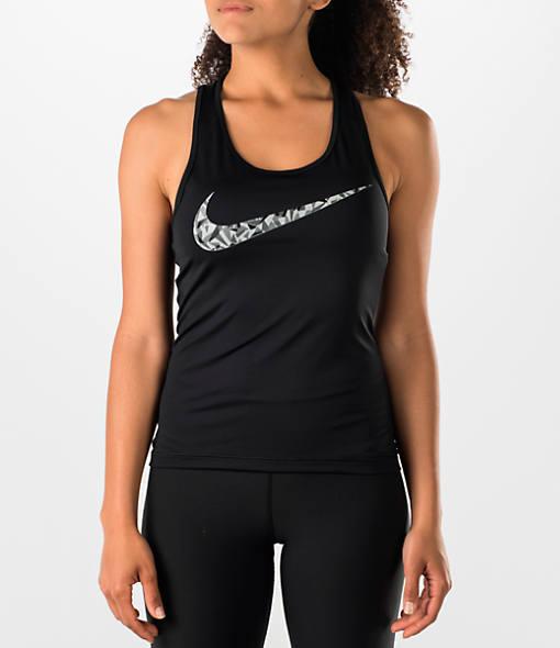 Nike Women's Pro Cool Facet Graphic Training Tank