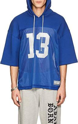 2efee8683 Adaptation   Born X Raised Men s Cotton Hooded Football Jersey