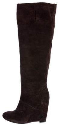 House Of Harlow Suede Wedge Boots