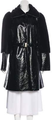 Emilio Pucci Shearling Belted Coat