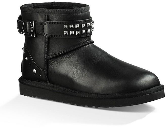 UGGUGG® Neva Studded Leather Booties