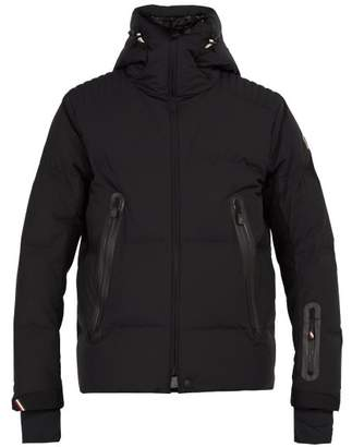 Moncler Calaita Hooded Quilted Down Ski Jacket - Mens - Black