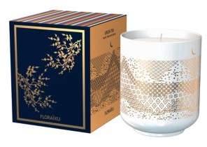 Floraiku Green Tea Tea-Cup Candle/4.6 oz.