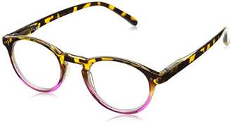 Peepers Unisex-Adult Book Club 933200 Round Reading Glasses