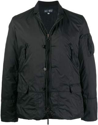 Giorgio Armani Pre-Owned 2000s windbreaker jacket