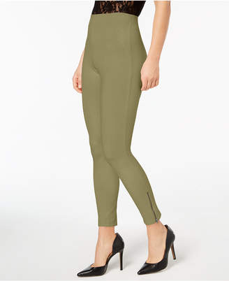 Hue Simply Stretch Ankle-Zip Leggings
