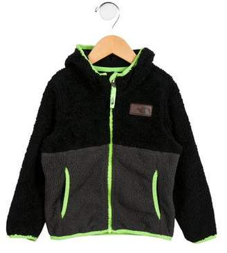 The North Face Boys' Fleece Colorblock Jacket