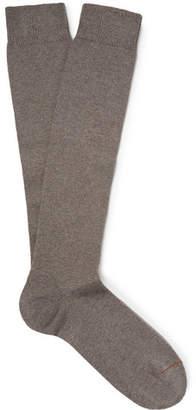Loro Piana Stretch-Cashmere Over-The-Calf Socks