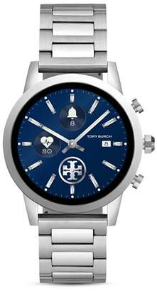 Tory Burch The Gigi Stainless Steel Touchscreen Smartwatch, 40mm