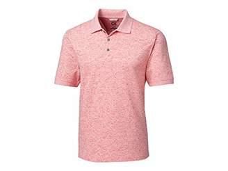 Cutter & Buck Men's Drytec Cotton+ Jersey 35+ UPF Advantage Space Dye Polo Shirt