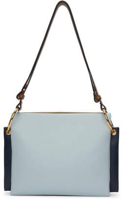 Marni Blue Tricolor Layered Bag
