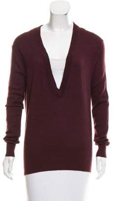 Tome Long Sleeve V-Neck Sweater