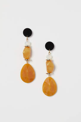 H&M Long Earrings - Yellow