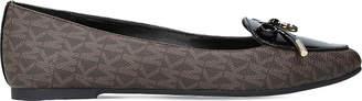 MICHAEL Michael Kors Nancy monogram leather flats