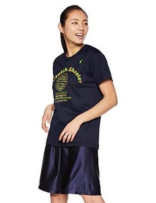Converse (コンバース) - [コンバース] バスケ 半袖プリントTシャツ 練習用 吸汗・速乾 CB391302 ネイビー 日本 S (日本サイズS相当)