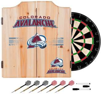 D+art's Trademark Gameroom NHL Dart Cabinet Set With Darts and Board