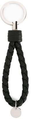 Bottega Veneta interlaced leather keyring