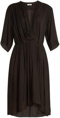 Etoile Isabel Marant Magda V-neck gathered dress