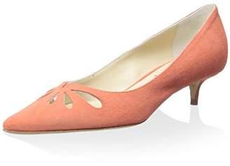 Butter Shoes Women's Debate Pointy-Toe Kitten Heel Pump