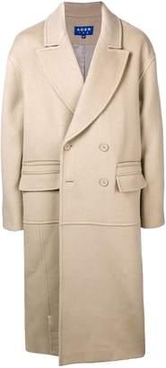 Ader Error oversized double breasted coat
