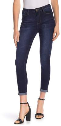 YMI Jeanswear Jeans No Muffin Top Roll Cuff Ankle Jeans