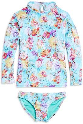 Peixoto Girls' Hermosa Beach Rash Guard & Swimsuit Bottoms