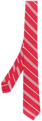 Thom Browne Small Repp Stripe Necktie