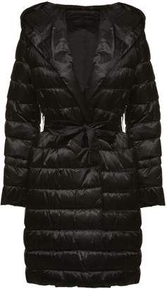 Max Mara The Cube Belted Long Down Jacket