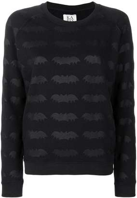 Zoe Karssen bat embroidered sweater