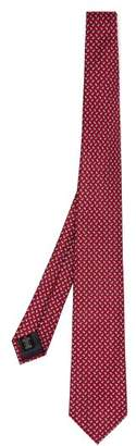 Ermenegildo Zegna Paisley Print Silk Tie - Mens - Red Multi