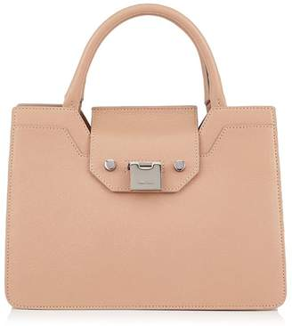 At Harrods Jimmy Choo Rebel Small Leather Top Handle Tote