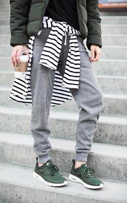 Ily Couture Eco Grey Joggers $58 thestylecure.com