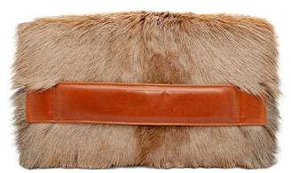 Norton Co. And Hodges Caprivi Clutch In Cognac Brown
