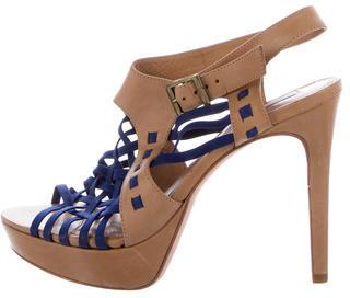 Pour La Victoire Cage Platform Sandals $85 thestylecure.com