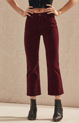 Pacsun Tawny Port Cropped Flare Jeans