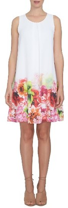 Women's Cece Chiffon Shift Dress $129 thestylecure.com