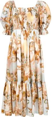 Karen Walker Altitude angel print dress