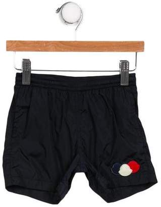 Moncler Boys' Patchwork Swim Shorts