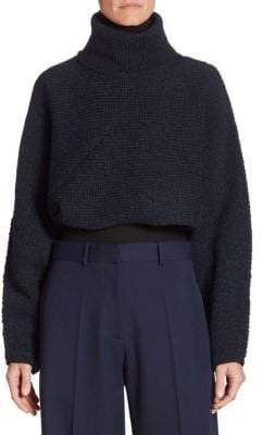 Victoria Beckham Wool Turtleneck Shrug