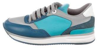 Salvatore Ferragamo Tower 3 Low-Top Sneakers