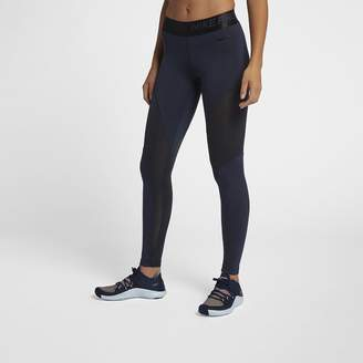 Nike Women's Sparkle 7/8 Tights Pro Warm