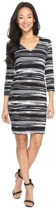 Karen Kane V-Neck Sheath Dress Women's Dress