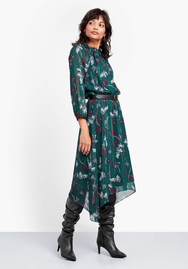 Phoenix Lurex Stripe Dress