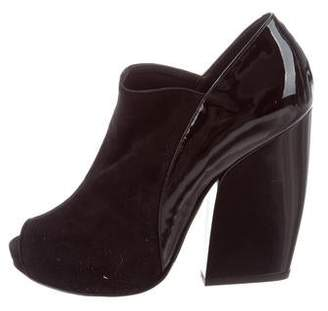 Pierre Hardy Peep-Toe Booties w/ Tags